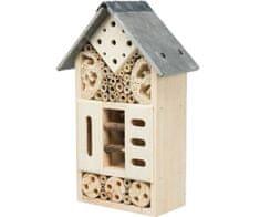 Trixie Hotel pro hmyz, 18x29x10cm, dřevo, domečky pro hmyz