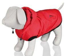 Trixie Červená vesta palermo s odepínací kapucí xs 30 cm,