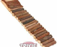 Trixie Dřevěný žebřík 7x27cm trixie, kolotoče, žebříky, houpačky