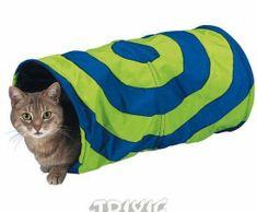 Trixie Nylonový tunel pro kočky 25x50cm, pelíšky, polštáře