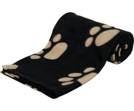 Trixie Gyapjú takaró barney 150x100cm, - fekete