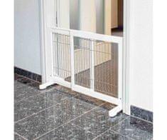 Kraftika Posuvná bariéra pro psy 65-108 x 61 x 31 bílá