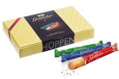 Gottlieber Tradition. 30 ks. Švajčiarské čokoládové trubičky, 450 g