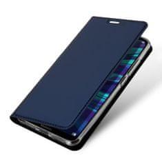 Dux Ducis Skin Pro knižkové kožené púzdro pre Samsung Galaxy A71, modré