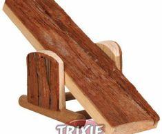 Trixie Houpačka pro křečky, přírodní22x7x8cm trixie, kolotoče