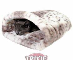 Trixie Plyšový pytlík leila béžovo-bílý 25x27x45 cm, pelíšky