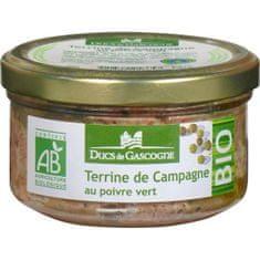 Ducs de Gascogne BIO Vidiecká terina so zeleným korením, 130g