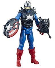 Spiderman Maximum Venom Captain America