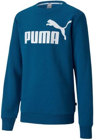 Puma ESS Logo Crew Sweat FL B fantovski pulover, moder, 104