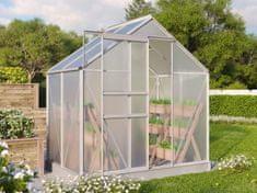 VITAVIA skleník VITAVIA TARGET 2500 PC 4 mm strieborný