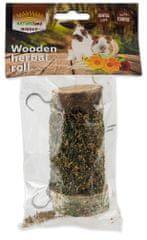 NATURE LAND Pochúťka Nibble valec s bylinkami 2x120 g