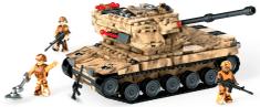 MEGA BLOKS Vojenský tank