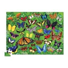 Crocodile Creek Puzzle 36 motýľov 100ks