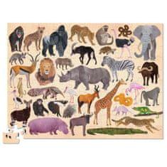 Crocodile Creek Puzzle 36 divokých zvierat 100ks