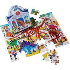 Crocodile Creek Puzzle Deň v múzeu/Dinosaury 48ks