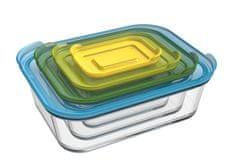Joseph Joseph Skleněné misky na potraviny Nest 81060