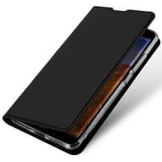 Dux Ducis Skin Pro knížkové kožené pouzdro pro Xiaomi Redmi Note 8 Pro, černé