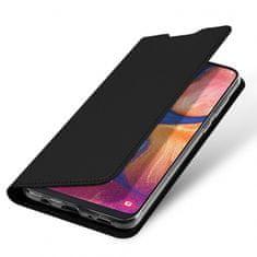Dux Ducis Skin Pro knížkové kožené pouzdro na Huawei Y7 2019 / Y7 Prime 2019, černé