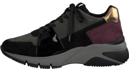 Tamaris Női sportcipő 23765, 36, fekete