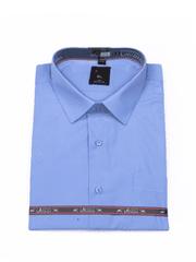 Laviino ItalyStyle Světle modrá pánská košile s dlouhým rukávem MS-39 slim fit Velikost: EU 38/39