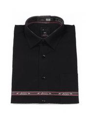 Laviino ItalyStyle Černá košile s dlouhým rukávem M-14 Velikost: EU 38/39