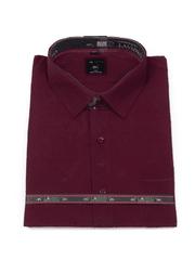 Laviino ItalyStyle Vínová košile s krátkým rukávem MK-19 Velikost: EU 38/39