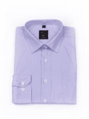 Laviino ItalyStyle Společenská světle fialová košile s dlouhým rukávem M-20 Velikost: EU 38/39