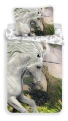 Jerry Fabrics posteljina Jednorog, bijela