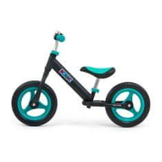 MILLY MALLY Detské odrážadlo bicykel Milly Mally Sonic Black-Mint Čierna