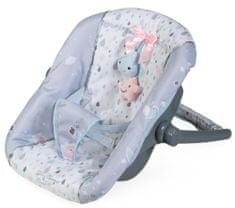 DeCuevas fotelik samochodowy dla lalek z kołderką 51329 Martin