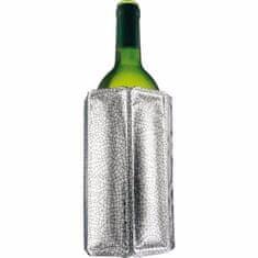 Vacuvin Chladič na víno Aktiv, stříbrný