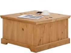 Danish Style Konferenčný stolík Alia, 80 cm, borovica