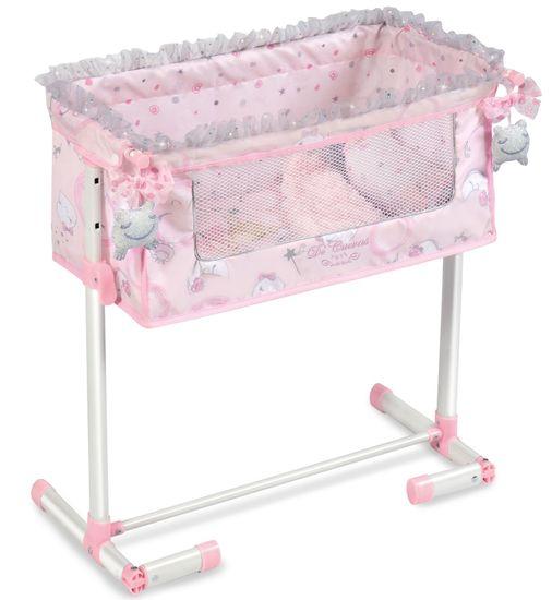 DeCuevas 51234 Novorozenecká postýlka pro panenky s funkcí společného spaní Magic Maria