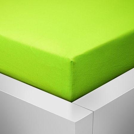Povlečeme vše Jersey lap felső - zöld (kivi) 90x200 cm