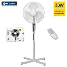 Platinet PRSF16W samostojeći ventilator, daljinsko upravljanje
