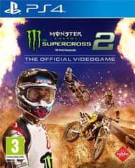 Milestone Monster Energy Supercross: The Official Videogame 2 igra (PS4)