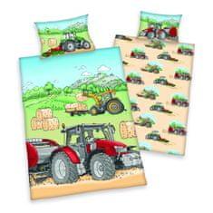 Herding Detské obliečky traktor
