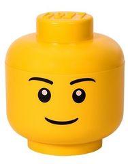LEGO Tárolófej (L méret) - fiú