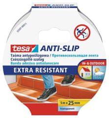 """Tesa Protiskluzová páska """"Anti-slip 55587"""", průhledná, 25 mm x 5 m"""