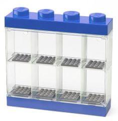 LEGO Gyűjtő szekrény 8 figura számára - kék
