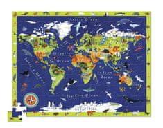 Crocodile Creek Puzzle Svet zvierat veľké 100ks