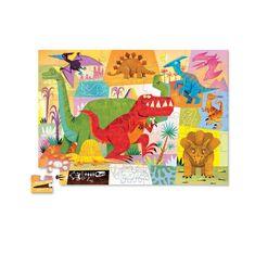 Crocodile Creek Puzzle Box Junior Dinosaurus 72ks