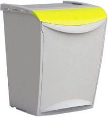 Denox Odpadkový koš na tříděný odpad 25 litrů Žlutá