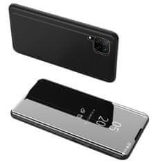 MG Clear View knížkové pouzdro na Huawei P40 Lite, černé