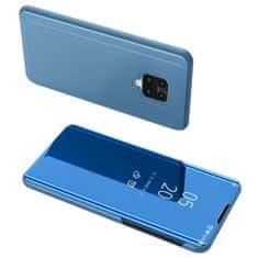 MG Clear View knížkové pouzdro na Xiaomi Redmi Note 9 Pro / Redmi Note 9S, modré