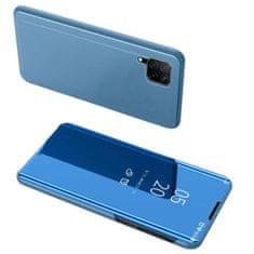 MG Clear View knížkové pouzdro na Huawei P40 Lite, modré