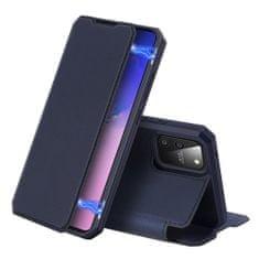 Dux Ducis Skin X knížkové kožené pouzdro na Samsung Galaxy S10 Lite, modré