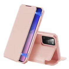 Dux Ducis Skin X knížkové kožené pouzdro na Samsung Galaxy S10 Lite, růžové
