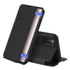 Dux Ducis Skin X knížkové kožené pouzdro na Samsung Galaxy Note 10 Lite, černé