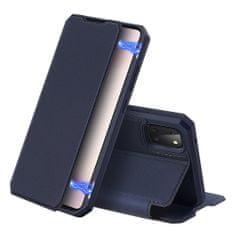 Dux Ducis Skin X knižkové kožené puzdro na Samsung Galaxy Note 10 Lite, modré